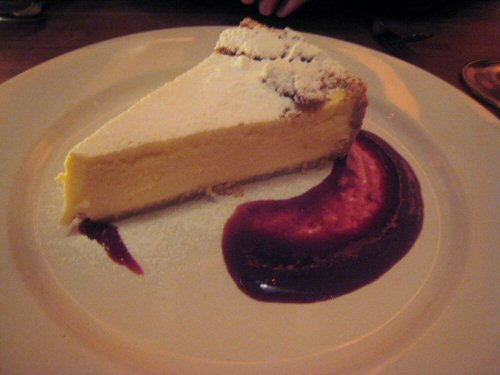 Bar uriarte ricotta cheesecake