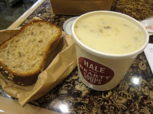 Hale and hearty chicken chowder