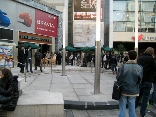 Buenos aires starbucks line four days out