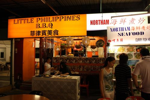 Northam beach filipino stand