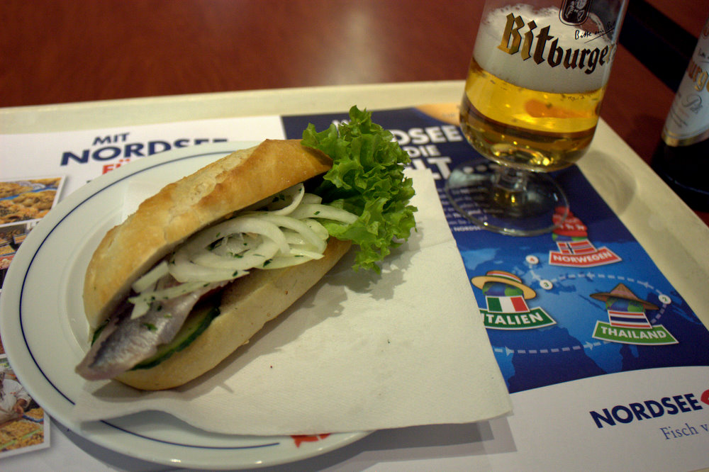 Nordsee goodies first for Fish sandwich fast food
