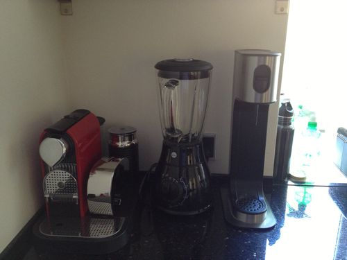 Nespresso & soda machines
