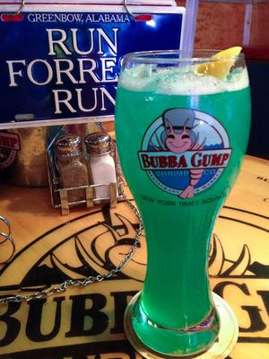Bubba gump blue hawaii
