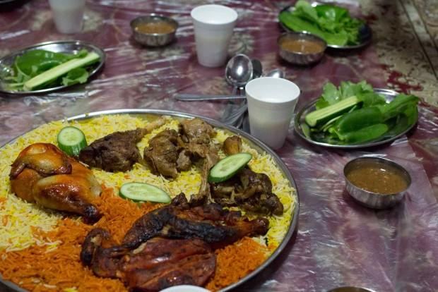al tawasol chicken mandi,madhbi, lamb madfoon