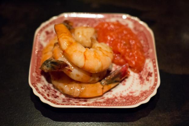 m wells steakhouse shrimp on shrimp