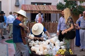 al qasr brunch coconuts