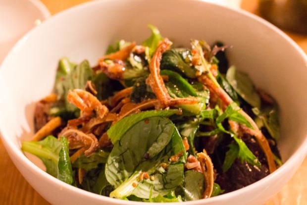 emily pig ear salad