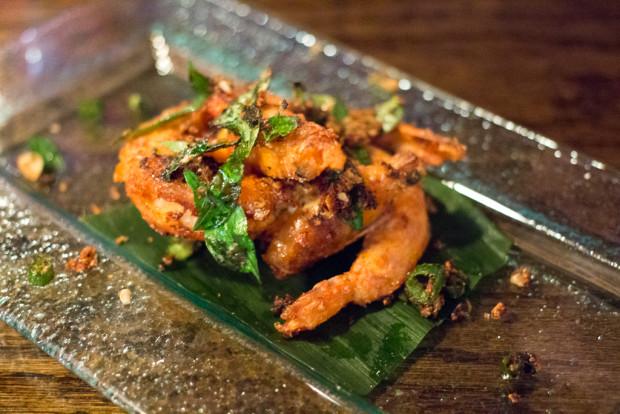 pasar malam garlic shrimp