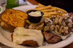 sizzler steak & malibu chicken combo