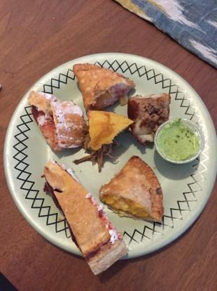 mama's empanadas sliced