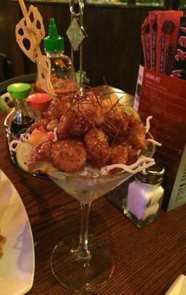 tex wasabi's rockin' lava shrimp