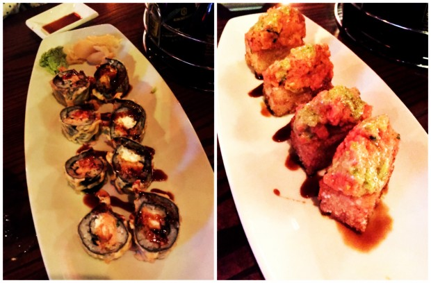 tex wasabi's sushi duo