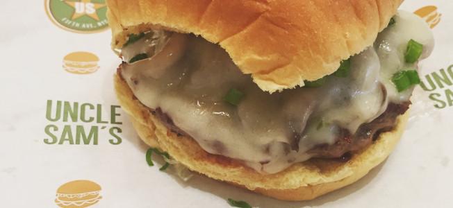 uncle sam's signature burger