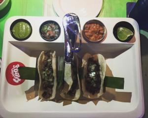 senor frog's carne asada tacos