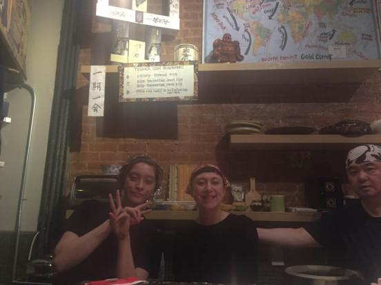 lady sushi chefs