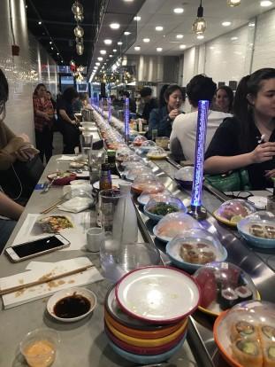 yo sushi belt