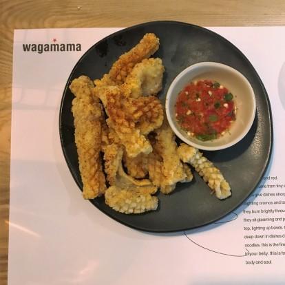 wagamama squid